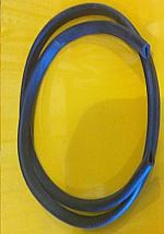 1/4 INCH   LID  RUBBER SEAL (SOLD BY THE FOOT)