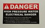 Decal - DANGER High Pressure /ELECTRICAL