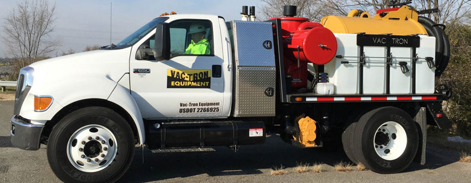 Vac-Tron PTO Series Chassis-Mounted Air Excavation System